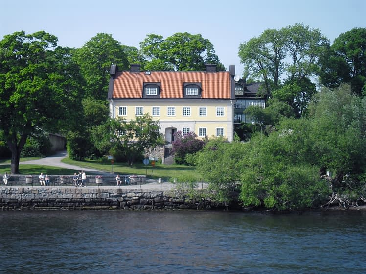 Waterfront house in Stockholm Archipelago