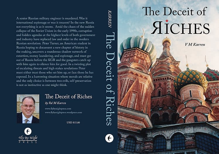 Deceit of Riches Paperback Cover SMALL